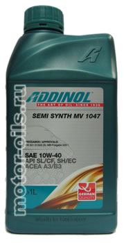 ADDINOL Semi Synth MV 1047 (1_литр)