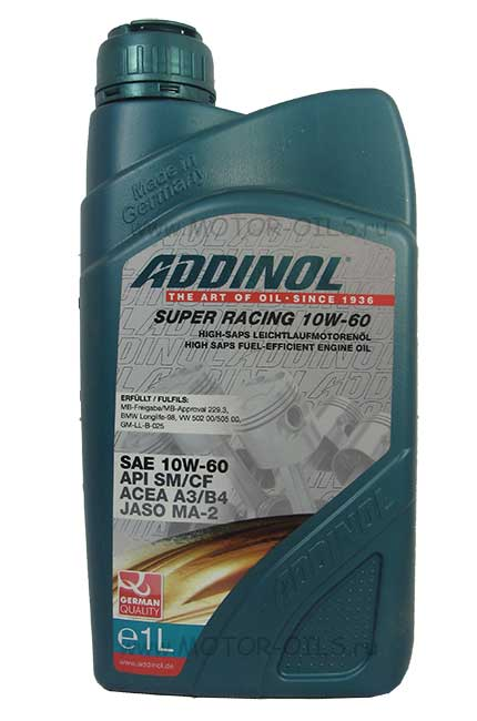 ADDINOL Super Racing 10W-60 (1_литр)