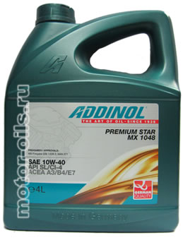 ADDINOL Premium Star MX 1048 (4_литра)