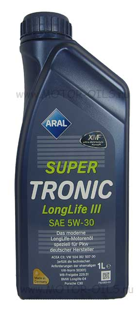ARAL SuperTronic LongLife III 5W-30 (1_литр)