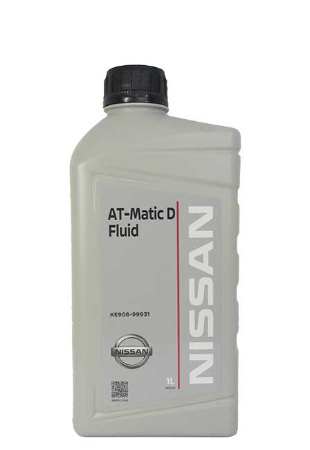 NISSAN AT-Matic D Fluid (1_литр/OEM:KE908-99931)