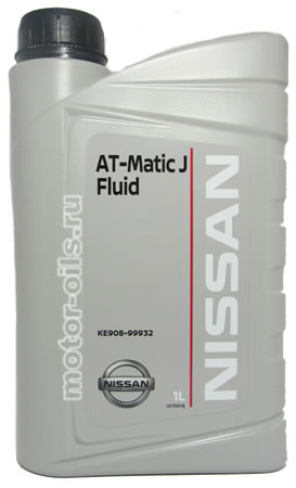 NISSAN AT-Matic J Fluid (1_литр/OEM:KE908-99932)