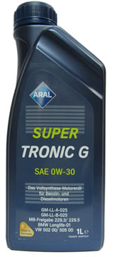 ARAL SuperTronic G 0W-30 (1_литр)