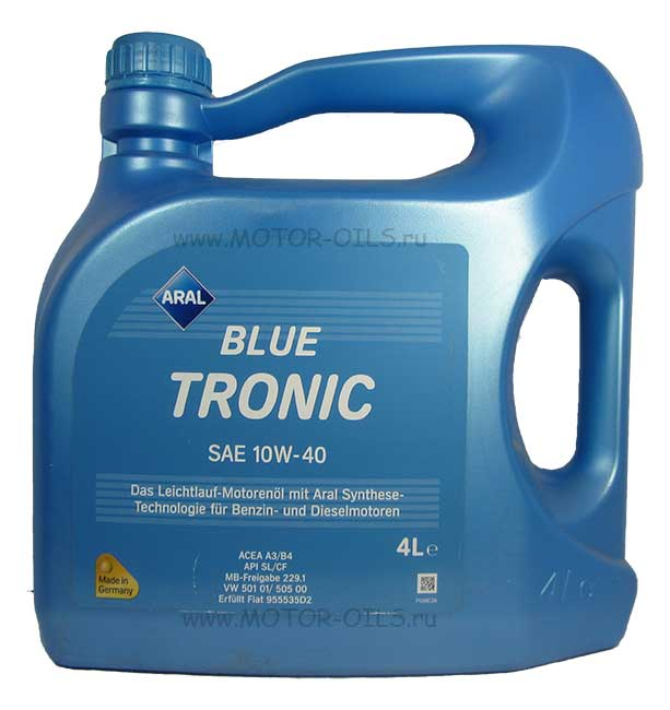 ARAL BLUE TRONIC SAE 10W-40 (4_литра)