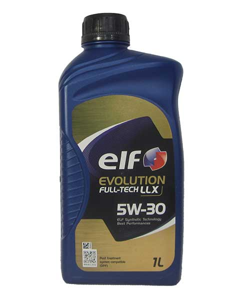 ELF EVOLUTION FULL-TECH LLX 5W-30 (1_литр)
