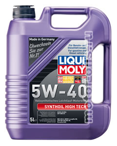Liqui Moly Synthoil High Tech 5W-40 (5_литров/Арт.1925)