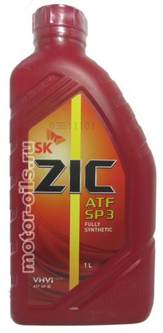 ZIC ATF SP 3 FULLY SYNTHETIC (1_литр)