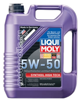 Liqui Moly Synthoil High Tech 5W-50 (5_литров/Арт.9068)