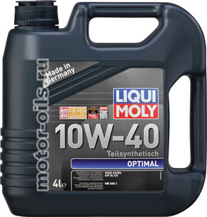 Liqui Moly Optimal 10W-40 (4_литра/Арт.3930)
