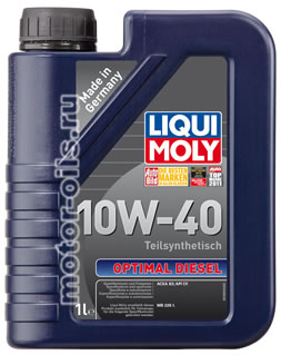 Liqui Moly Optimal Diesel 10W-40 (1_литр/Арт.3933)