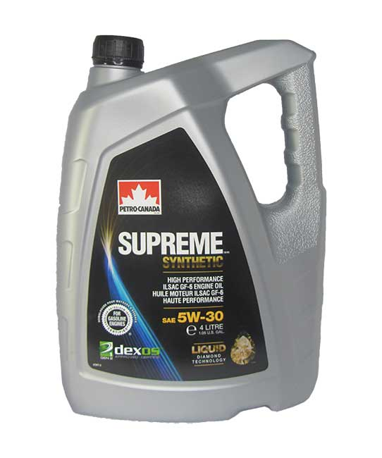 Petro-Canada Supreme Synthetic 5W-30 (4_литра)