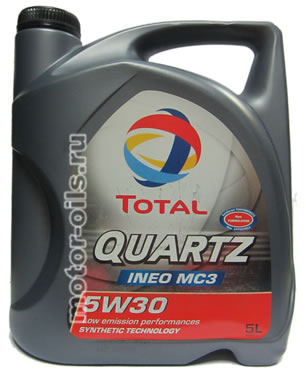 Total Quartz INEO MC3 5w-30 (5_литров)