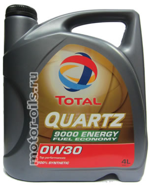 Total Quartz 9000 Energy Fuel Economy 0w-30 (4_литра)