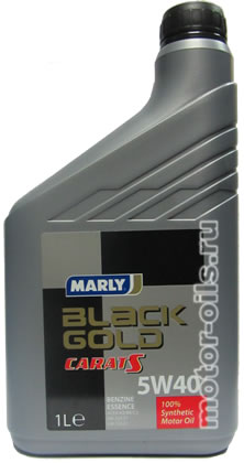 MARLY Black Gold Carat S 5w-40 (1_литр)