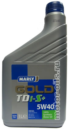 MARLY Gold TDi-S+ 5w-40 (1_литр)