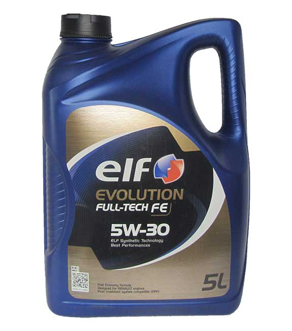 ELF EVOLUTION FULL-TECH FE 5W-30 (5_литров)