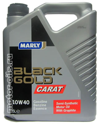 MARLY Black Gold Carat 10w-40 (5_литров)