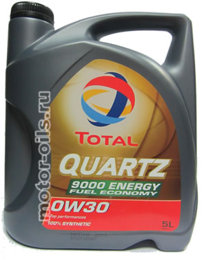Total Quartz 9000 Energy Fuel Economy 0w-30 (5_литров)