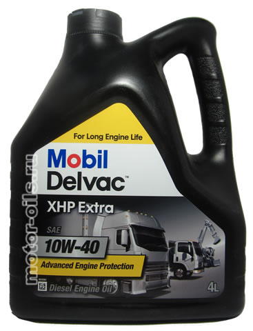 Mobil Delvac XHP Extra SAE 10W-40 (4_литра)