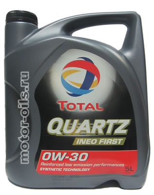 Total Quartz INEO FIRST 0W-30 (5_литров)