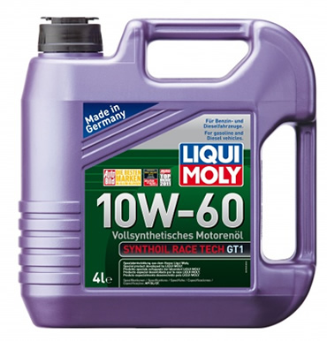 Liqui Moly Synthoil Race Tech GT1 10W-60 (4_литра/Арт.7535)