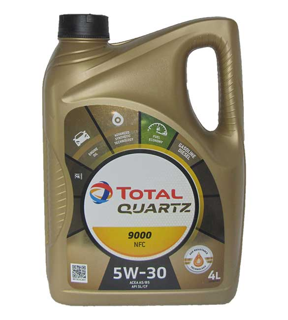 Total Quartz 9000 Future NFC 5W-30 (4_литра)