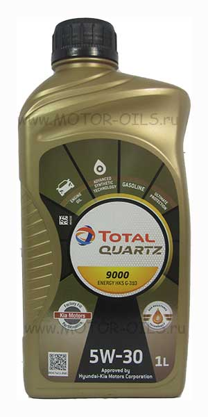 Total Quartz 9000 ENERGY HKS G-310 5W-30 (1_литр)