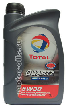 Total Quartz INEO MC3 5w-30 (1_литр)
