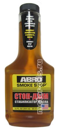 Присадка в масло стоп-дым abro 354 мл abro