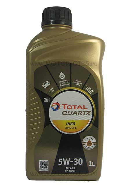 Total Quartz INEO Long Life 5w-30 (1_литр)