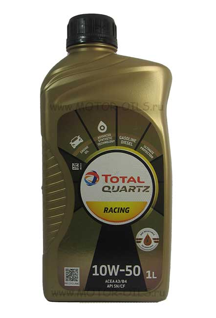 Total Quartz Racing 10w-50 (1_литр)