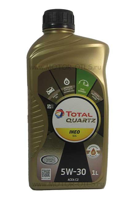 Total Quartz INEO ECS 5W-30 (1_литр)