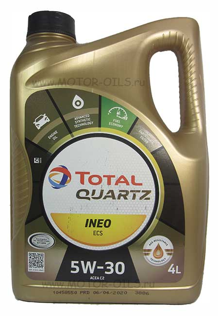 Total Quartz INEO ECS 5W-30 (4_литра)
