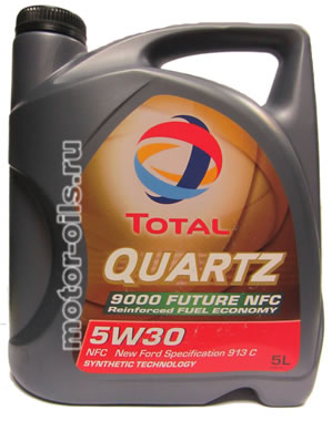 Total Quartz 9000 Future NFC 5W-30 (5_литров)
