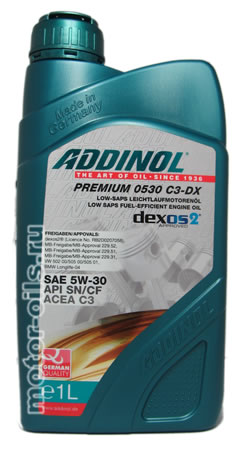 ADDINOL PREMIUM 0530 C3-DX (1_литр)