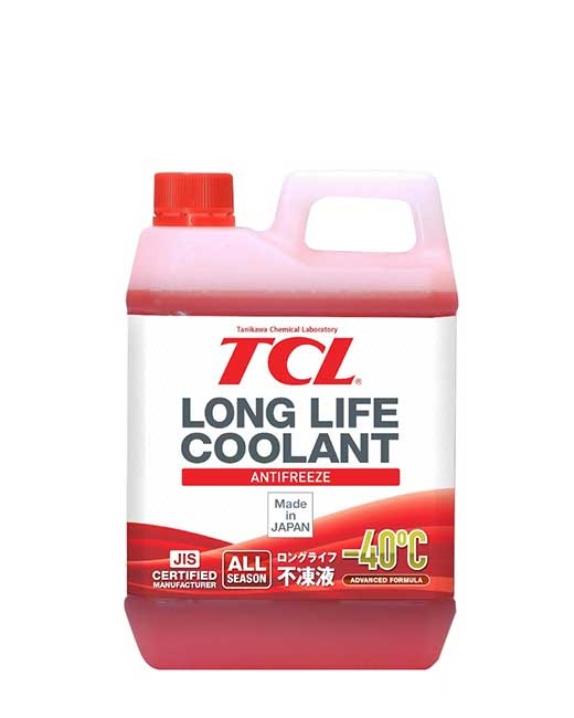 TCL Anti-freeze -40<sup>o</sup>C LONG LIFE COOLANT RED (2_литра)