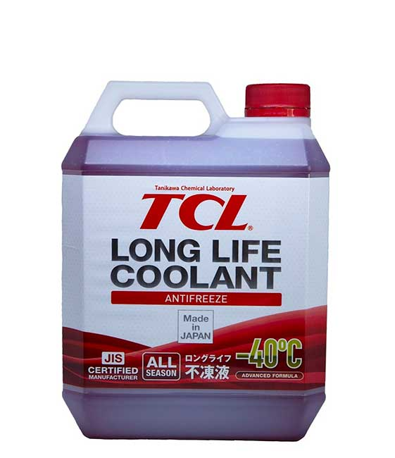 TCL Anti-freeze -40<sup>o</sup>C LONG LIFE COOLANT RED (4_литра)