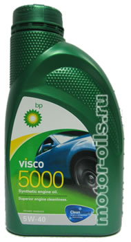 BP Visco 5000 SAE 5W-40 (1_литр)