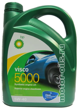 BP Visco 5000 SAE 5W-40 (4_литра)