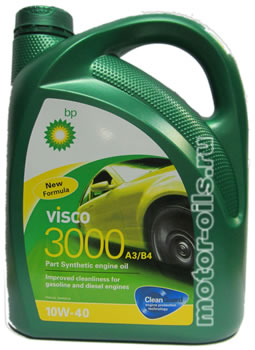 BP Visco 3000 SAE 10W-40 (4_литра)