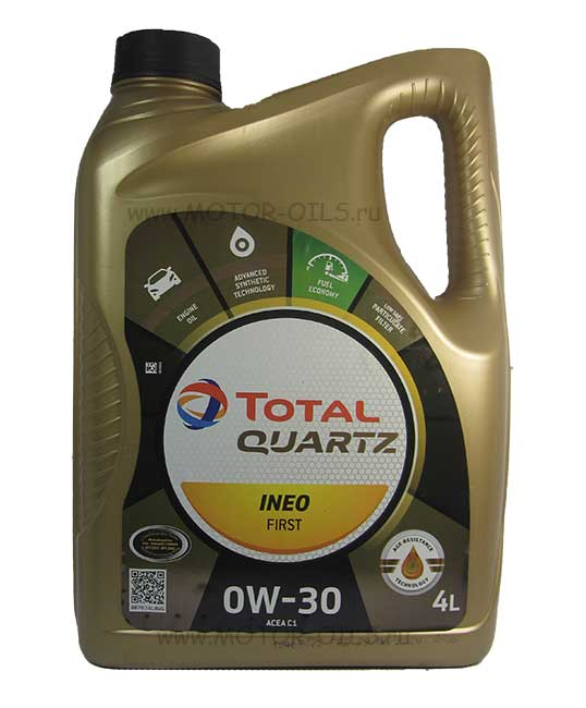 Total Quartz INEO FIRST 0W-30 (4_литра)