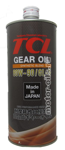 TCL GEAR OIL 80W-90 GL-5 (1_литр /OEM:G0018090)