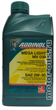 ADDINOL Mega Light MV 039 (1_литр)
