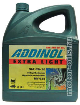 ADDINOL Extra Light MV 038 (4_литра)