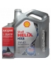 Shell Helix HX8 SYNTHETIC 5W-40 (4_литра+1_литр)