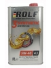 ROLF 3 SYNTHETIC Motor oil 5W-40 A3 1 литр