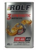 ROLF 3 SYNTHETIC Motor oil 5W-40 A3 4 литра